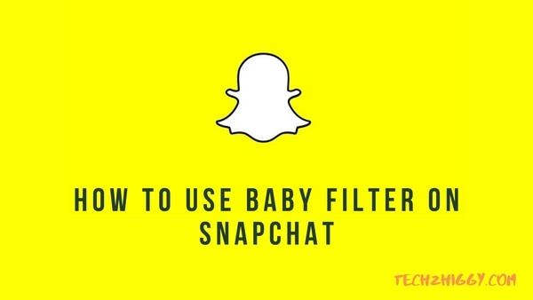 baby filter snapchat