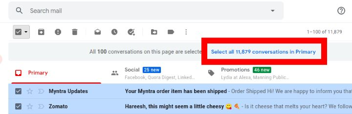 filter to delete mail in gmail